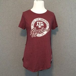 Texas A&M University Aggies Maroon T-Shirt TAMU